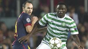 Wanyama: talking to the Saints (pic:BBC)